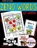 Zeno Words Color by Code