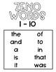 Zeno Words Color by Code