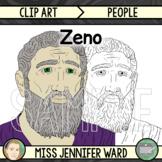 Zeno of Elea Clipart