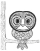 Zentangle Animals Colouring Book for Kids and Adults