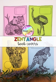 Zentangle Book Covers GROWING PACK #austeacherbfr