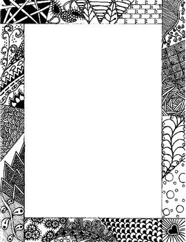 Zentangle Border