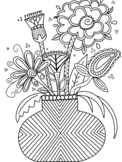 Zentangle Coloring Sheets