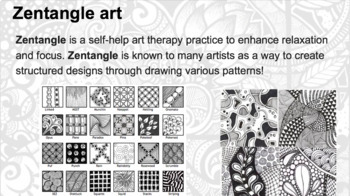 Zentangle Drawing Project