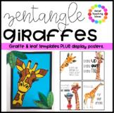 Zentangle Giraffes