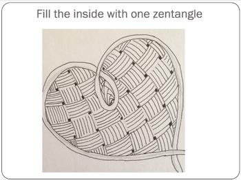 Zentangle Hearts Lesson