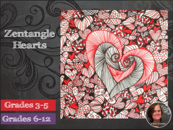 Zentangle Hearts Activity