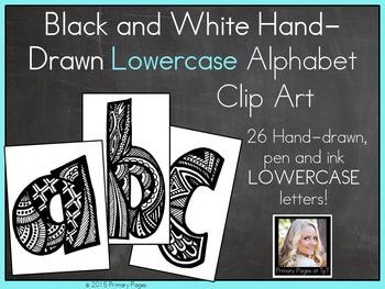 Lowercase Alphabet Clip Art