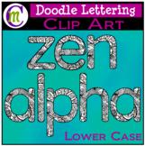 Doodle Letters Clip Art