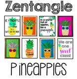 Zentangle Pineapples