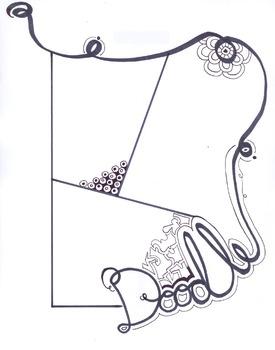 Zentangle/Doodle worksheet #2