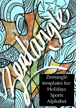 Zentangles: 45 templates ready to go!