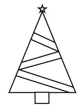 Zentangles Christmas Tree