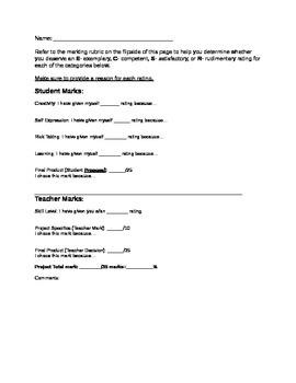 Zentangles Marking Sheet