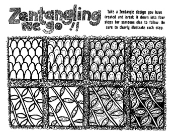 Zentangling We Go!