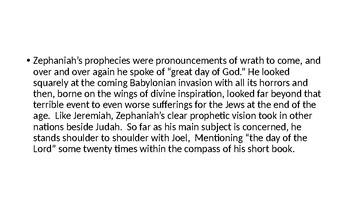 Zephaniah Power Point Notes