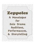 Zeppoles  Drama Solo Monologue Audition Script Storytelling Middle High School