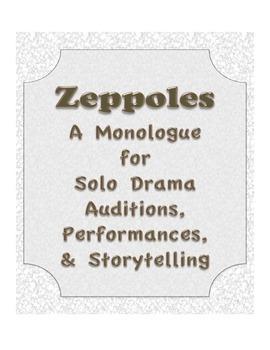 Zeppoles  Drama Solo Monologue Audition Script Storytellin