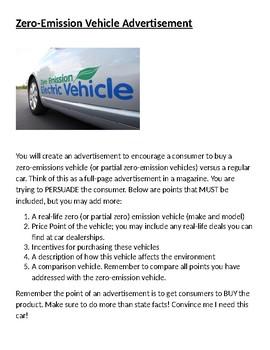 Zero Emission Advertisement