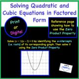 Solving Quadratic and Polynomial Equations