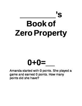 Zero Property of Addition
