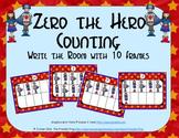 Zero the Hero Counting with Ten Frames {Subitizing}