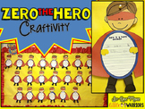 Zero the Hero Craftivity {100th Day Bulletin Board Display & Writing Activity}