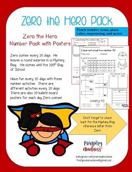 Zero the Hero Number Pack Days 10 - 100