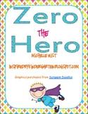 Zero the Hero Reproducible Books