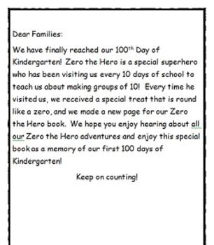 Zero the Hero Student Book