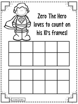 Zero the Hero by Kim Adsit and KinderByKim