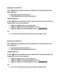 Zeros, Holes, and Asymptotes Cheat Sheet