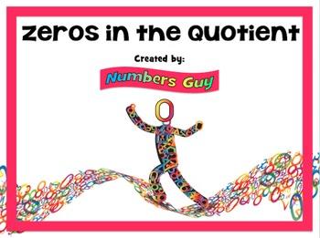 Zeros in the Quotient (Part of Division Unit)