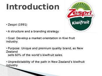 zespri case study