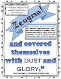 Zeugma Figurative Language Poster Printable