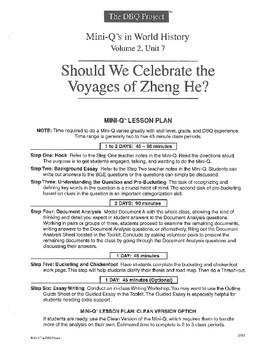 Zheng He: DBQ