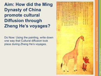 Zheng He Video Documentary lesson pack - meets Common Core standards