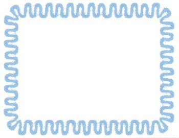 Zig Zag (1) Task Card Starter! {3 Different Borders}
