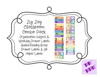 Zig Zag Classroom Combo Pack