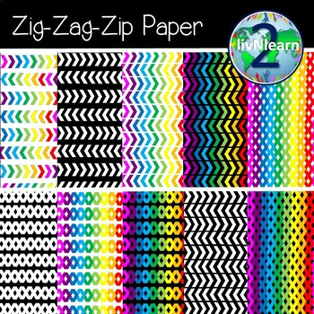Zig-Zag-Zip Paper FREEBIE!