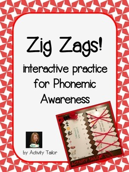 Zig Zags for Phonemic Awareness