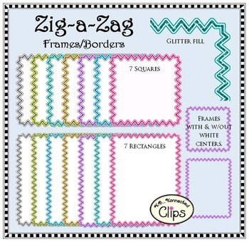 Zig-a-Zag Frames/Borders