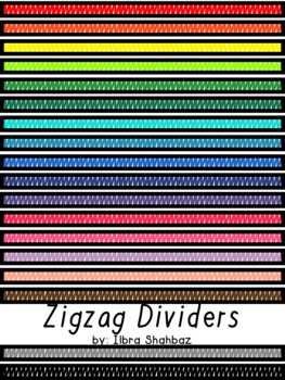 Page Dividers: ZigZag