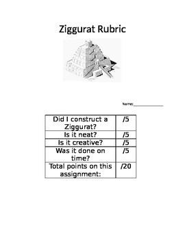 Ziggurat Rubric