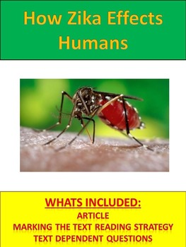 Science Literacy: Impacts of Zika Virus