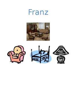 Zimmer und Mobel (Rooms and Furniture in German) Detectives speaking activity