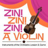 Zin! Zin! Zin! A Violin | Instruments of the Orchestra Les
