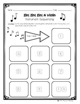 Zin! Zin! Zin! A Violin Interactive Repeated Close Read Aloud Lesson Plan