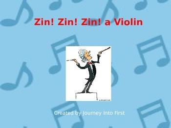 Zin! Zin! Zin! a Violin (Journeys Kindergarten Unit 5 Lesson 21)