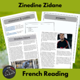 Zinedine Zidane - reading for intermediate/advanced French